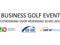 Uitnodiging Golf Event